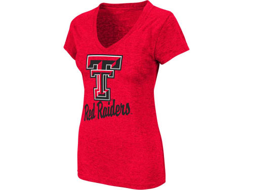 Texas Tech Red Raiders Colosseum NCAA Womens Favorite Vneck T-Shirt