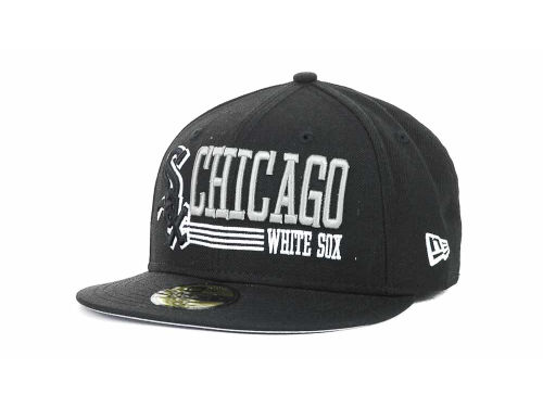 Chicago White Sox New Era MLB Present Time 59FIFTY Hats
