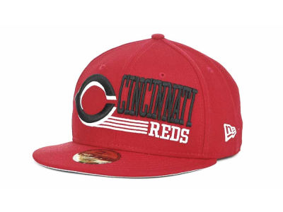 Cincinnati Reds MLB Present Time 59FIFTY Hats
