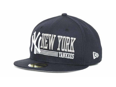 New York Yankees MLB Present Time 59FIFTY Hats
