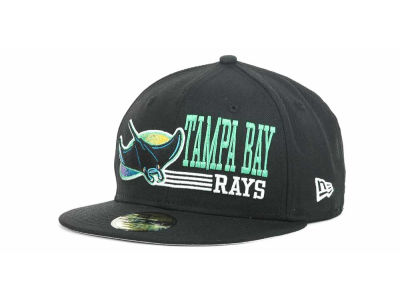 Tampa Bay Rays MLB Present Time 59FIFTY Hats