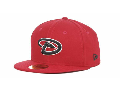 Arizona Diamondbacks MLB Red-BW 59FIFTY Hats