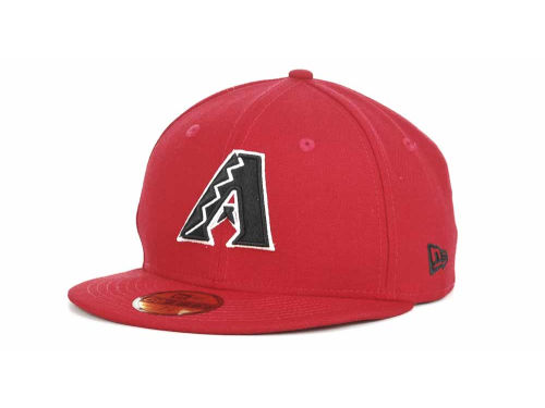 Arizona Diamondbacks New Era MLB Red-BW 59FIFTY Hats