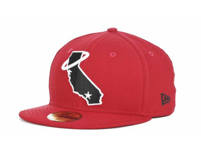 Los Angeles Angels of Anaheim MLB Red-BW 59FIFTY Hats