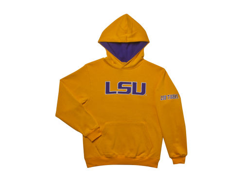 LSU Tigers Colosseum NCAA Youth Big Logo Hoodie