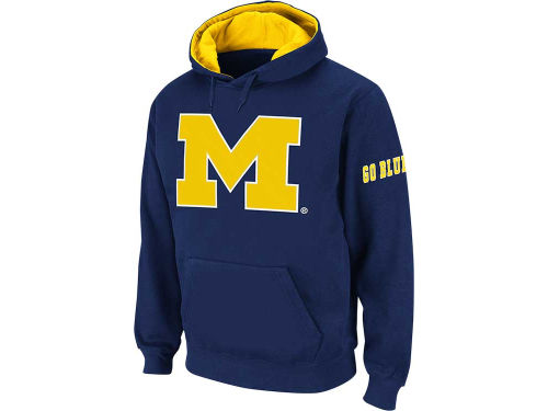 Michigan Wolverines Colosseum NCAA Youth Big Logo Hoodie