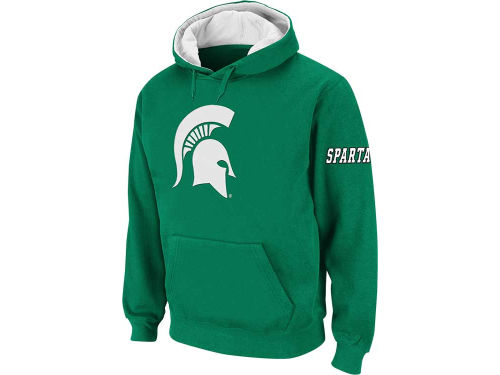 Michigan State Spartans Colosseum NCAA Youth Big Logo Hoodie