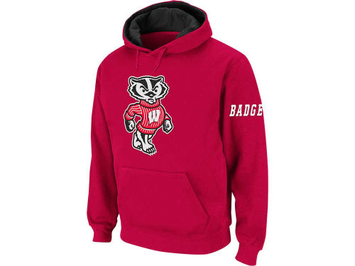 Wisconsin Badgers Colosseum NCAA Youth Big Logo Hoodie