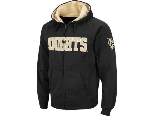 University of Central Florida Knights Colosseum NCAA Youth Block Full Zip Hoodie