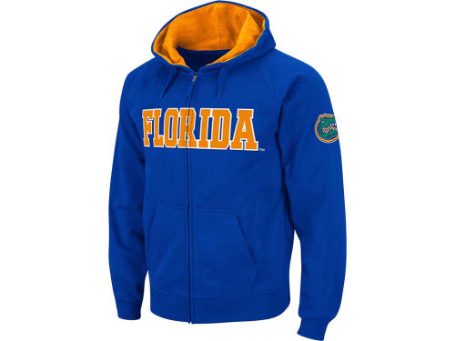Florida Gators Colosseum NCAA Youth Block Full Zip Hoodie
