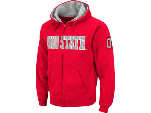 Ohio State Buckeyes Colosseum NCAA Youth Block Full Zip Hoodie