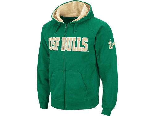 South Florida Bulls Colosseum NCAA Youth Block Full Zip Hoodie