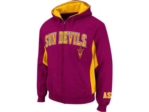 Arizona State Sun Devils Colosseum NCAA Turf Full Zip Hoodie