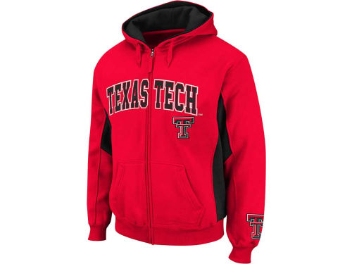 Texas Tech Red Raiders Colosseum NCAA Turf Full Zip Hoodie