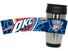 Oklahoma City Thunder Hunter Manufacturing Stainless Steel Travel Tumbler Kitchen & Bar