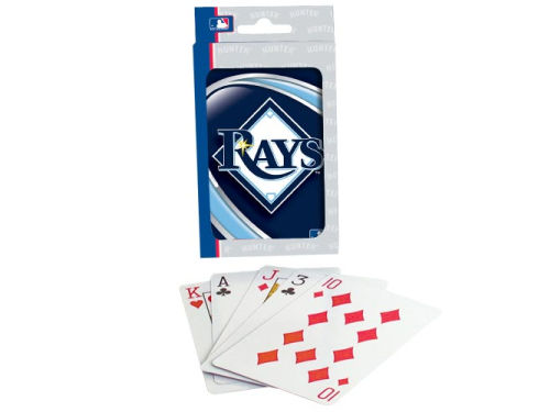 Tampa Bay Rays Hunter Manufacturing Playing Cards