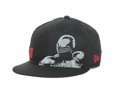 G.I. Joe SNAKE EYES Panel Face 9FIFTY Snapback Hats