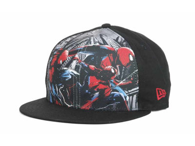 Marvel SPIDERMAN Sub Front 9FIFTY Snapback Hats
