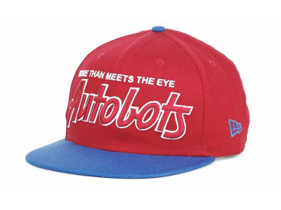 Transformers Hero Team Script 9FIFTY Snapback Hats