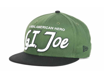 G.I. Joe Hero Team Script 9FIFTY Snapback Hats