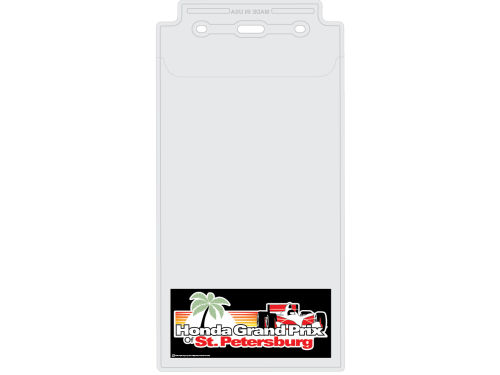 Honda Grand Prix of St. Petersburg Wincraft Racing Event Credential Holder & Lanyard