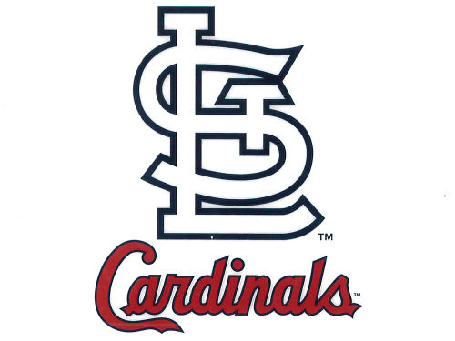 St. Louis Cardinals Rico Industries Static Cling Decal
