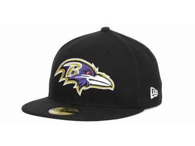 Baltimore Ravens NFL Official On Field 59FIFTY Hats