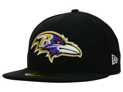 Baltimore Ravens NFL Official On Field 59FIFTY Cap Hats