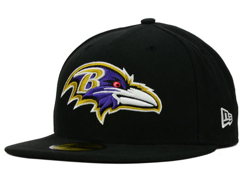 Baltimore Ravens New Era NFL Official On Field 59FIFTY Cap Hats