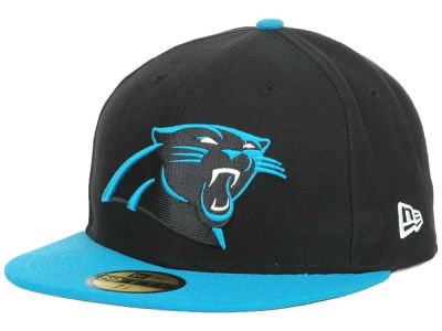 Carolina Panthers NFL Official On Field 59FIFTY Cap Hats