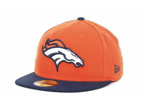 Denver Broncos New Era NFL Official On Field 59FIFTY Hats