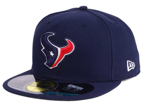 Houston Texans New Era NFL Official On Field 59FIFTY Cap Hats