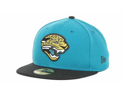 Jacksonville Jaguars NFL 2013 Logo Change Fitted 59FIFTY Cap Hats