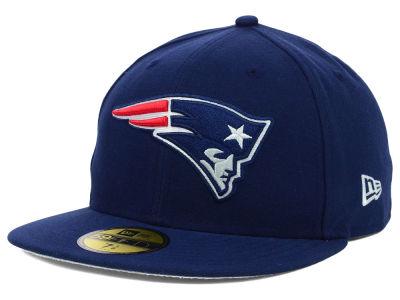 New England Patriots NFL Official On Field 59FIFTY Cap Hats