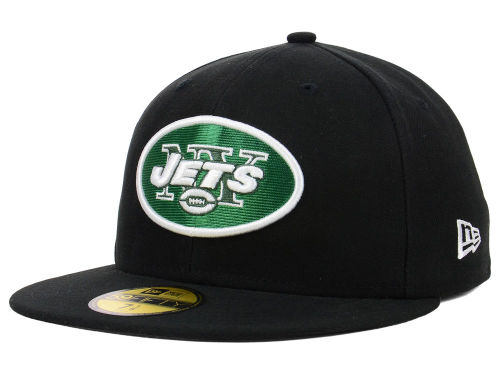 New York Jets New Era NFL Official On Field 59FIFTY Cap Hats