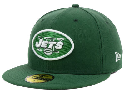 New York Jets NFL Official On Field 59FIFTY Cap Hats