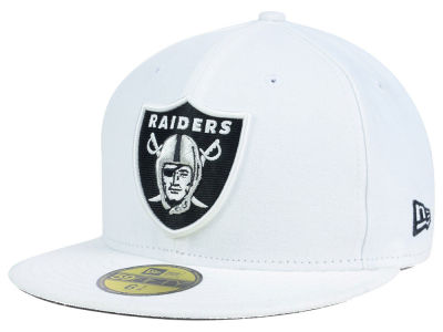 Oakland Raiders NFL Official On Field 59FIFTY Cap Hats
