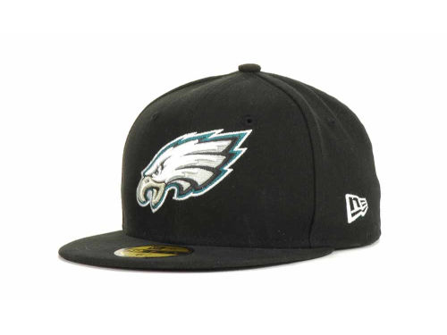 Philadelphia Eagles New Era NFL Official On Field 59FIFTY Hats
