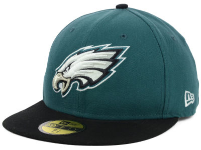 Philadelphia Eagles NFL Official On Field 59FIFTY Cap Hats