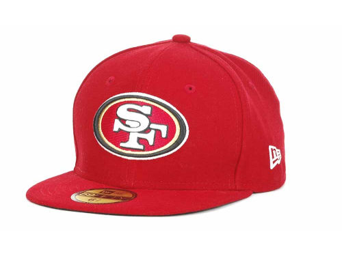 San Francisco 49ers New Era NFL Official On Field 59FIFTY Hats