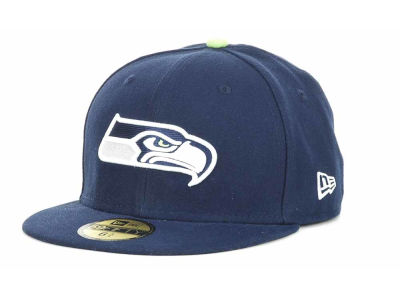 Seattle Seahawks NFL Official On Field 59FIFTY Hats