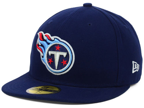 Tennessee Titans New Era NFL Official On Field 59FIFTY Cap Hats