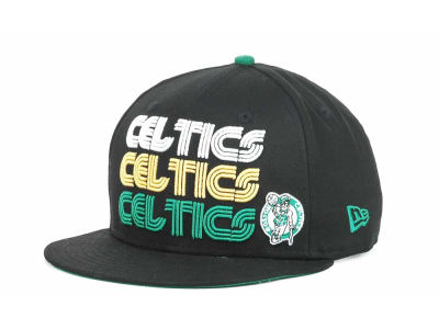 Boston Celtics NBA Hardwood Tri-Logo 9FIFTY Snapback Hats