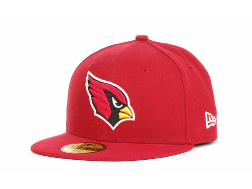 Arizona Cardinals New Era NFL Official On Field 59FIFTY Cap Hats