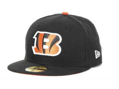 Cincinnati Bengals NFL Official On Field 59FIFTY Hats