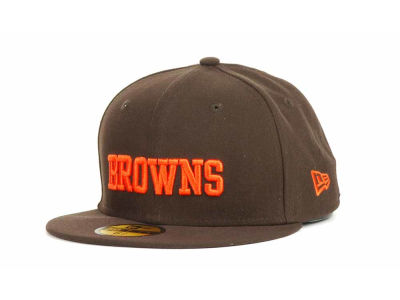 Cleveland Browns NFL Official On Field 59FIFTY Hats