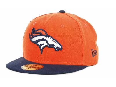 Denver Broncos NFL Official On Field 59FIFTY Cap Hats