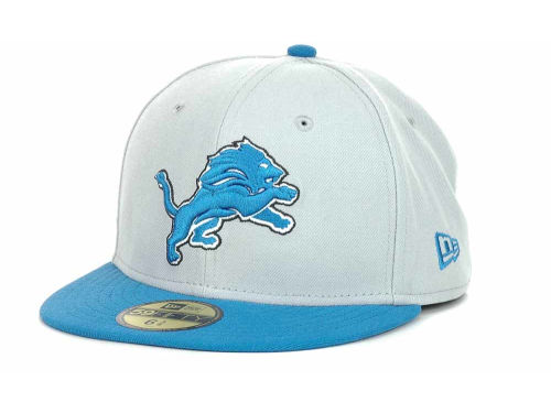 Detroit Lions New Era NFL Official On Field 59FIFTY Cap Hats