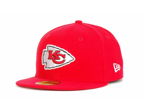 Kansas City Chiefs New Era NFL Official On Field 59FIFTY Cap Hats