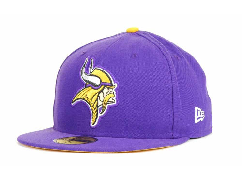 Minnesota Vikings New Era NFL 2013 Logo Change Fan Cap Hats